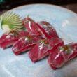 O chef Saburó fala sobre o aproveitamento total do melhor atum do Brasil