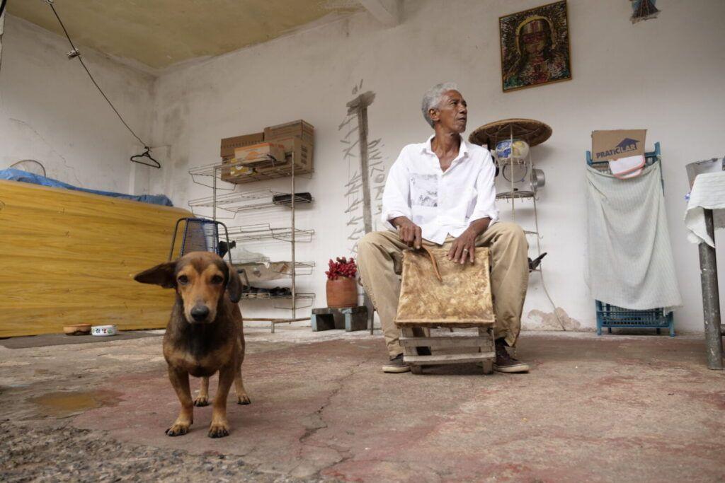 Paçoca de Cuiabá: milho triturado, açúcar, canela e piché