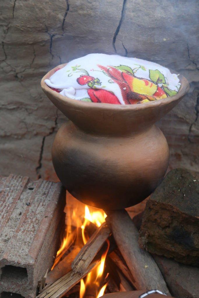 Receita de Peixe ao vapor da cuscuzeira de barro com maçunim