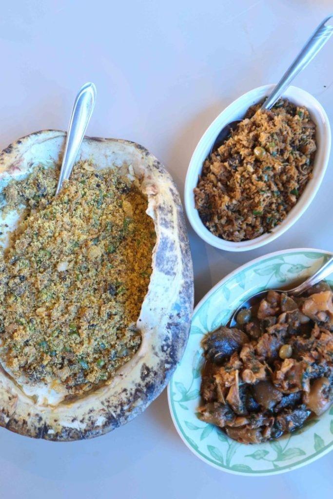 Receita de Picadinho, guisado e farofa de tartaruga