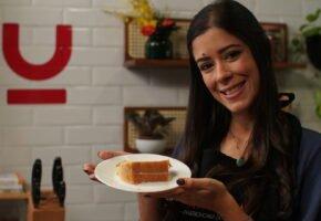 Chef Maria Clara Magalhães dá a dica de como fazer um bolo perfeito