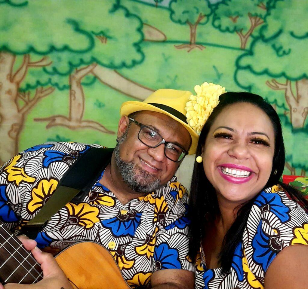 Duo Flor de Cacau apresenta: Cantando e Contando Histórias na cozinha